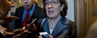 Collins Says Kavanaugh Is Unlikely to Favor Overturning Roe