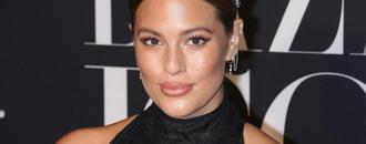 Ashley Graham Shows Off Her Curves in Red Bikini as She Whips Her Wet Hair Around