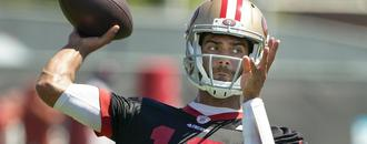 Why Kyle Shanahan had to abort rep with Jimmy Garoppolo at 49ers minicamp