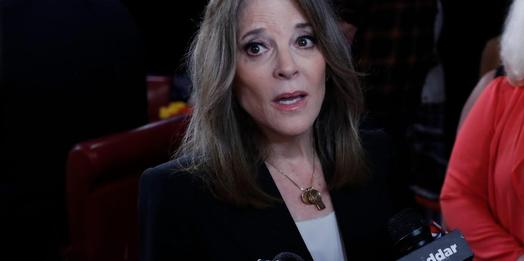 Marianne Williamson pledges to remove Oval Office portrait of Andrew Jackson put there by Trump