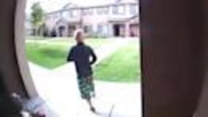 Missing Idaho 7-year-old Joshua Vallow seen on surveillance playing in front yard weeks before disappearance