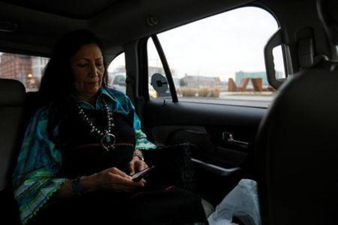 Deb Haaland Becomes One Of First Two Native American Congresswomen