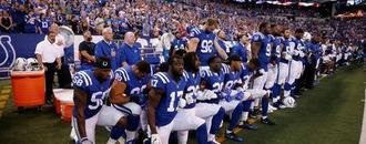 Trump wants suspensions for NFL players who kneel during anthem