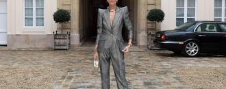 Céline Dion Gives Executive Realness a Couture Twist
