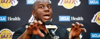 Lakers president Magic Johnson: I get fined every time I talk about other players, but nobody else does