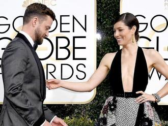 justin timberlake and jessica biel golden globes