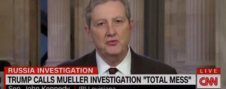 Sen. John Kennedy To Trump: 'Tweeting A Little Less Would Not Cause Brain Damage'