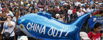 Philippines protests new China law as `verbal threat of war