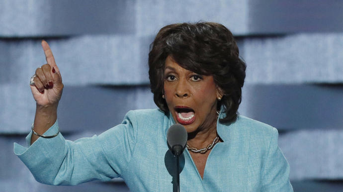 Maxine Waters Cancels Events After 'Very Serious Death Threat'