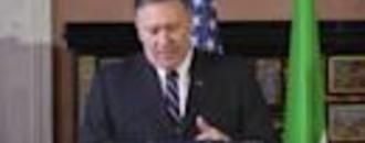 State Department website promotes Mike Pompeo speech on
