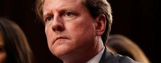 U.S. Justice Department : ex-White House counsel McGahn has