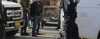Shooting near West Bank settlement kills at least 2 Israelis