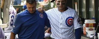 Anthony Rizzo to wear walking boot for five to seven days