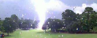 Lightning strike in weather delay injures several fans at Tour Championship