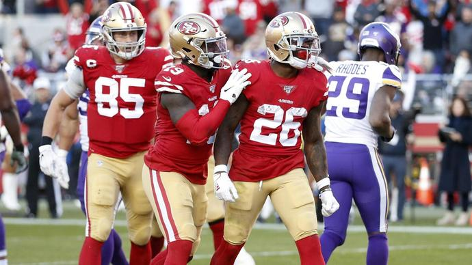49ers march towards Super Bowl after vanquishing Vikings in NFL playoffs