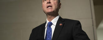 "The Latest: Pelosi says Trump ""most afraid"" of Schiff"