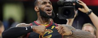 LeBron James sinks clutch buzzer-beater to cap off dominant play-off performance