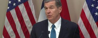 Governor Cooper vetoing bill with congressional race redo