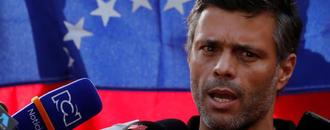 Venezuelan opposition figure Lopez abandons Caracas residence to flee abroad