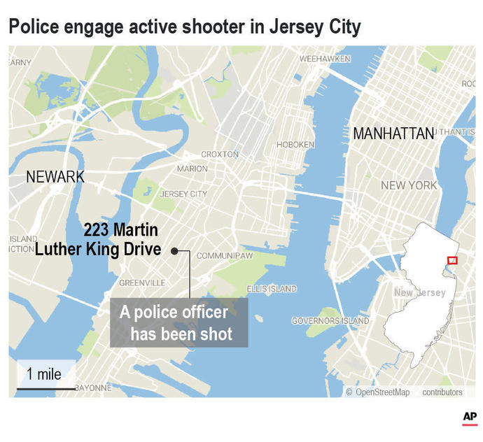 Multiple people killed in New Jersey shooting, including cop