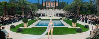 At Chanel Couture the Bride Wore...a Sequin Bathing Suit