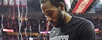 Report: Kawhi Leonard to return to San Antonio around exit interviews. Then…