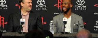 Asked about getting stabbed in back, Chris Paul says trade from Rockets