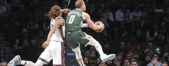 Bucks win easily again, beat Nets 117-97 for 6th straight