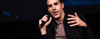 Why Sacha Baron Cohen Credits Donald Trump for