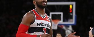 John Wall tries to play through bone spur in heel, scores career low 1 point in loss