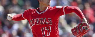 Ohtani struggles in first pitching start with Angels
