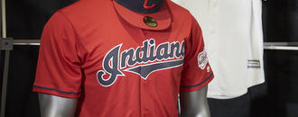Indians unveil alternate red home jerseys for 2019 season