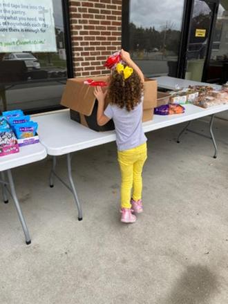 Fulfill food bank helps starving girl (Courtesy Fulfill)