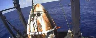 SpaceX Crew Dragon suffers anomaly during engine test; no injuries reported