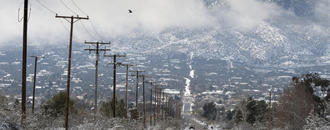 The Latest: Part of I-10 closed because of snow