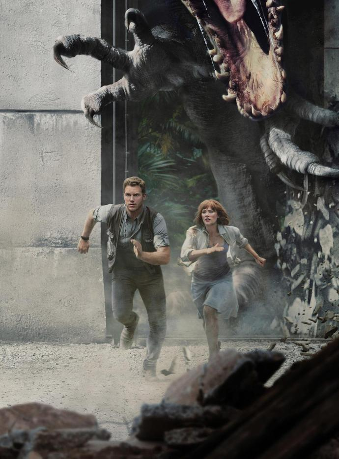Chris Pratt, Bryce Dallas Howard featured in Jurassic World ride at Universal