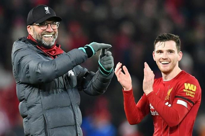 Andy Robertson says Liverpool are not interested in Premier League title talk