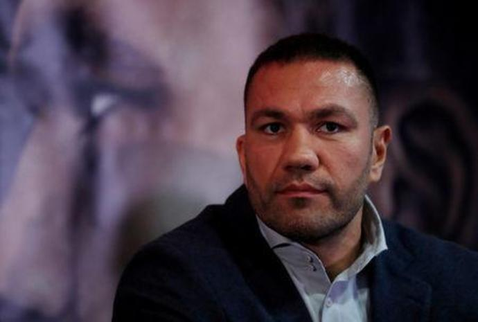 FILE PHOTO: Kubrat Pulev in Cardiff, Britain - September 11, 2017