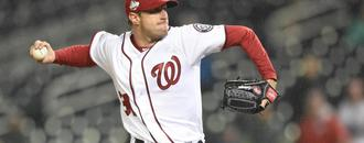 Nats ace Scherzer breaks nose in batting practice