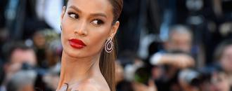 Joan Smalls Uses Sunscreen As Contour