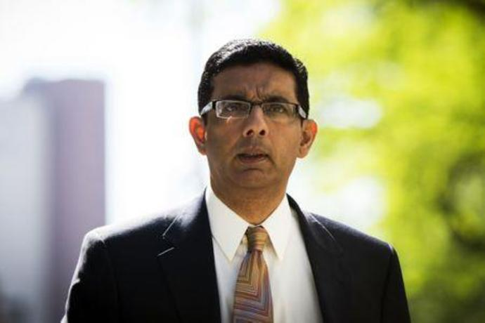 FILE PHOTO: Conservative commentator and best-selling author, Dinesh D