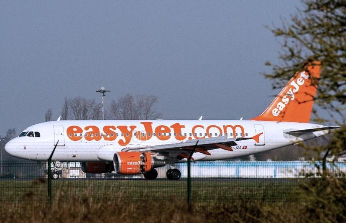 An easyJet flight from Slovenia to London was diverted to Cologne after a