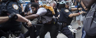 NYPD officers could face suspension over clashes with protesters, commissioner says