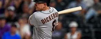 New dad Alex Dickerson stays hot at plate for Giants amid crazy stretch