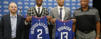 Clippers use ridiculously steep arc to fit Shai Gilgeous-Alexander