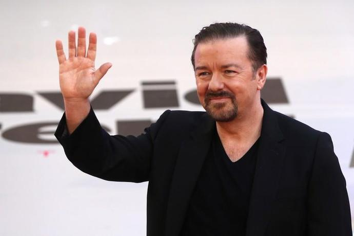 Caustic Gervais returns as Golden Globes host for