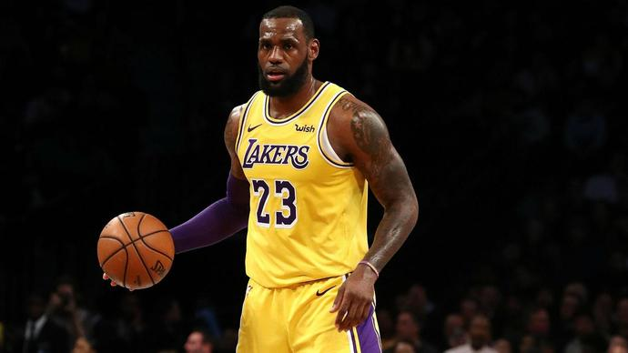 LeBron James ready for Lakers' playoff push