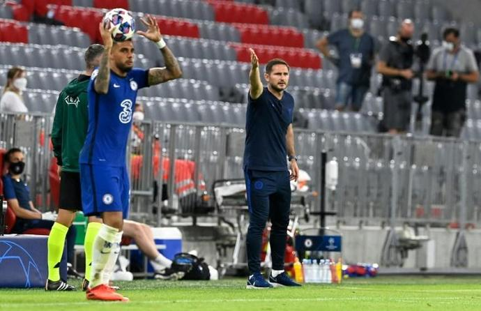We Ll Learn From This Chelsea Boss Lampard Mulls Bayern Mauling