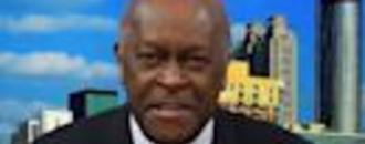 Herman Cain reacts to