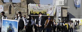 The Latest: Iraq